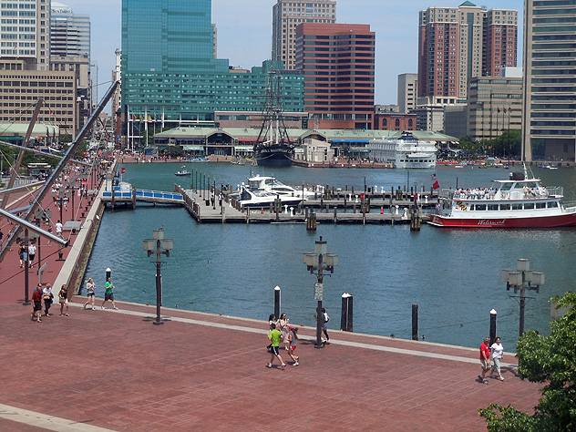 Baltimore's Inner Harbor 12MAY12