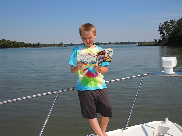 Reading on the Bow