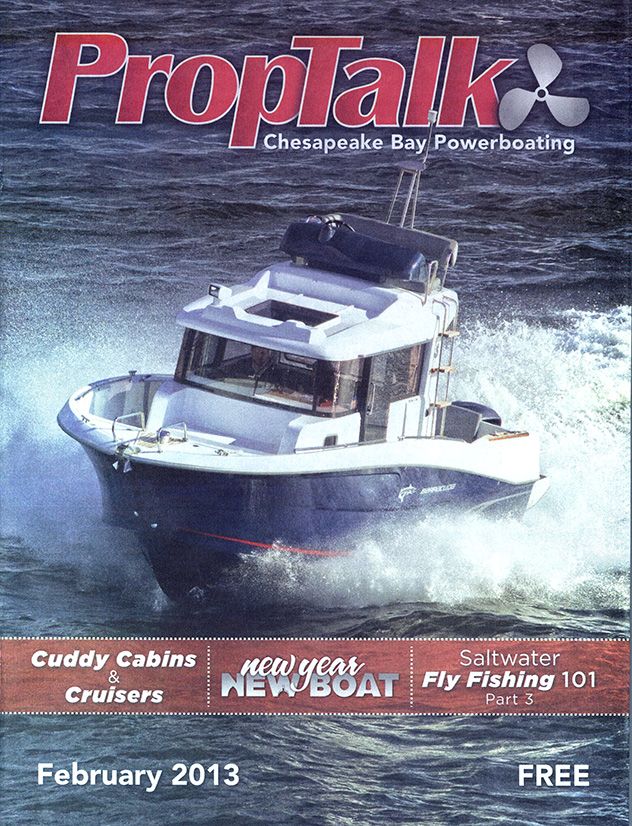 February 2013's PropTalk Cover