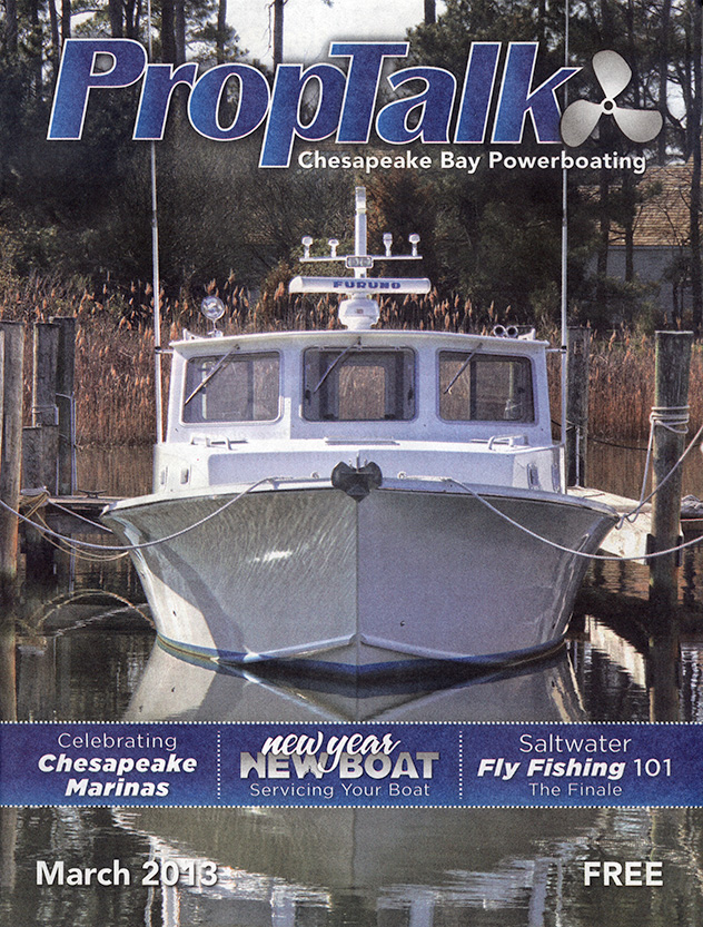 March 2013 PropTalk Cover