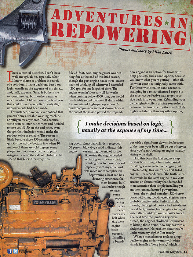 May2013: Repower Adventures | boatblog... the Christina Rose