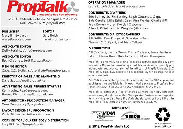 PropTalk Credits