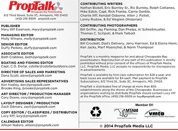 PropTalk's 2014 Credits