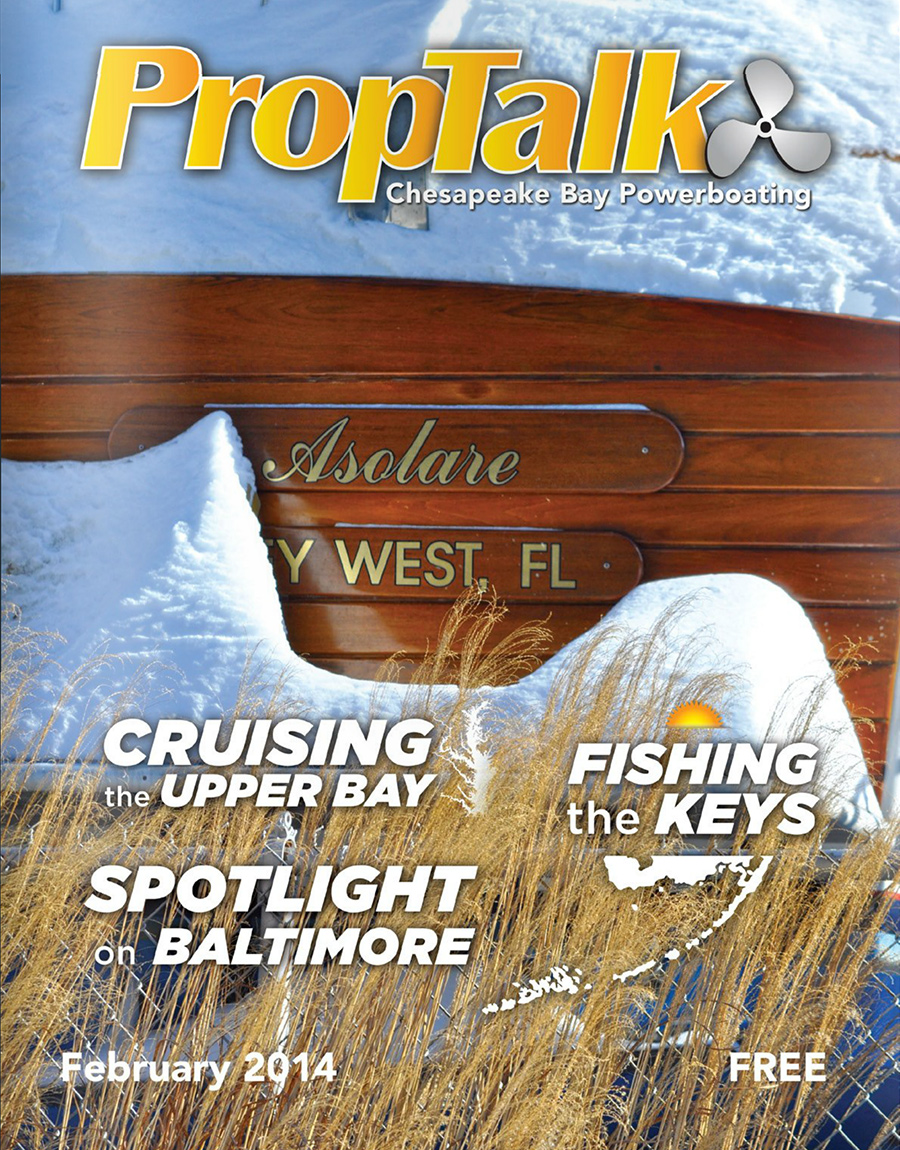 PropTalk Cover, Feb 2014