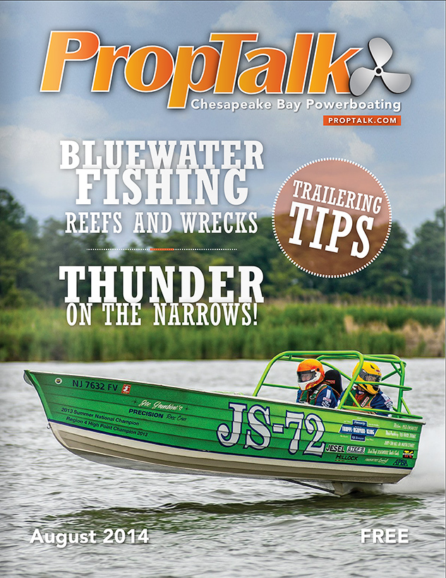 PropTalk Cover, August 2014 edition