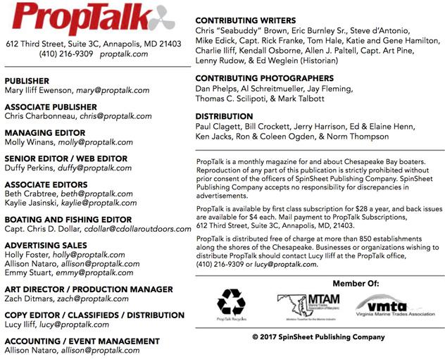 PropTalk Credits 2017